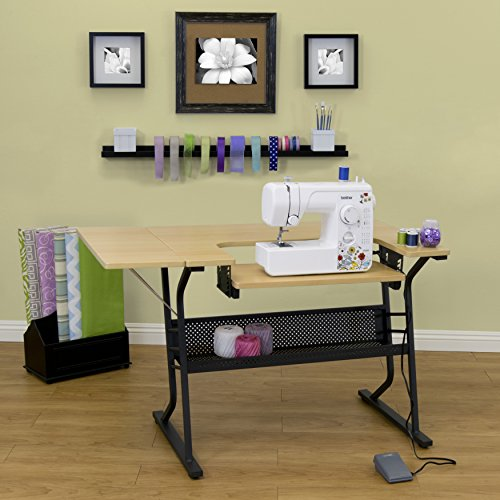 Studio Designs Eclipse Sewing Machine Table Model 13367 - Sewing Machine Cabinets And Tables
