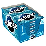 Eclipse Peppermint Sugarfree Gum, 18 Piece Pack (8 Packs)