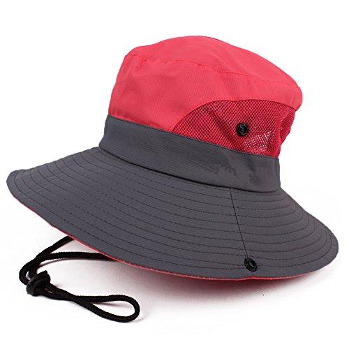 JURUAA Womens Boonie Hat Sun Bucket Visor Hats Packable Travel Hat