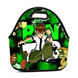 Cily-Bagge Custom Ben-10 Cartoon Office/School/Picnic Lunch Bag for Kids/Men/Women Tote Handbag