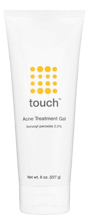 Touch Benzoyl Peroxide 2.5% Acne Treatment Gel Cream