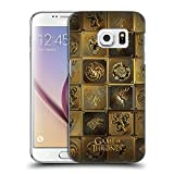 Official HBO Game Of Thrones All Houses Golden Sigils Hard Back Case for Samsung Galaxy S7