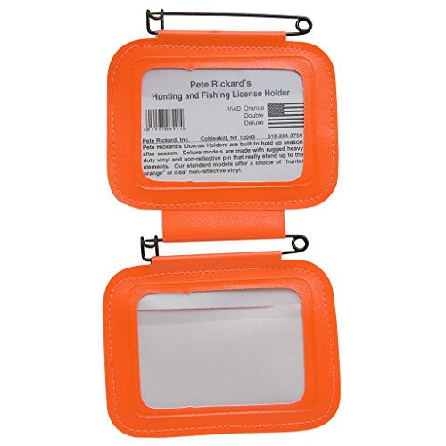 (Rickard`s/Scotch License Holder Double Orange)