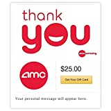 AMC Theatres Thank You Gift Cards - E-mail Delivery