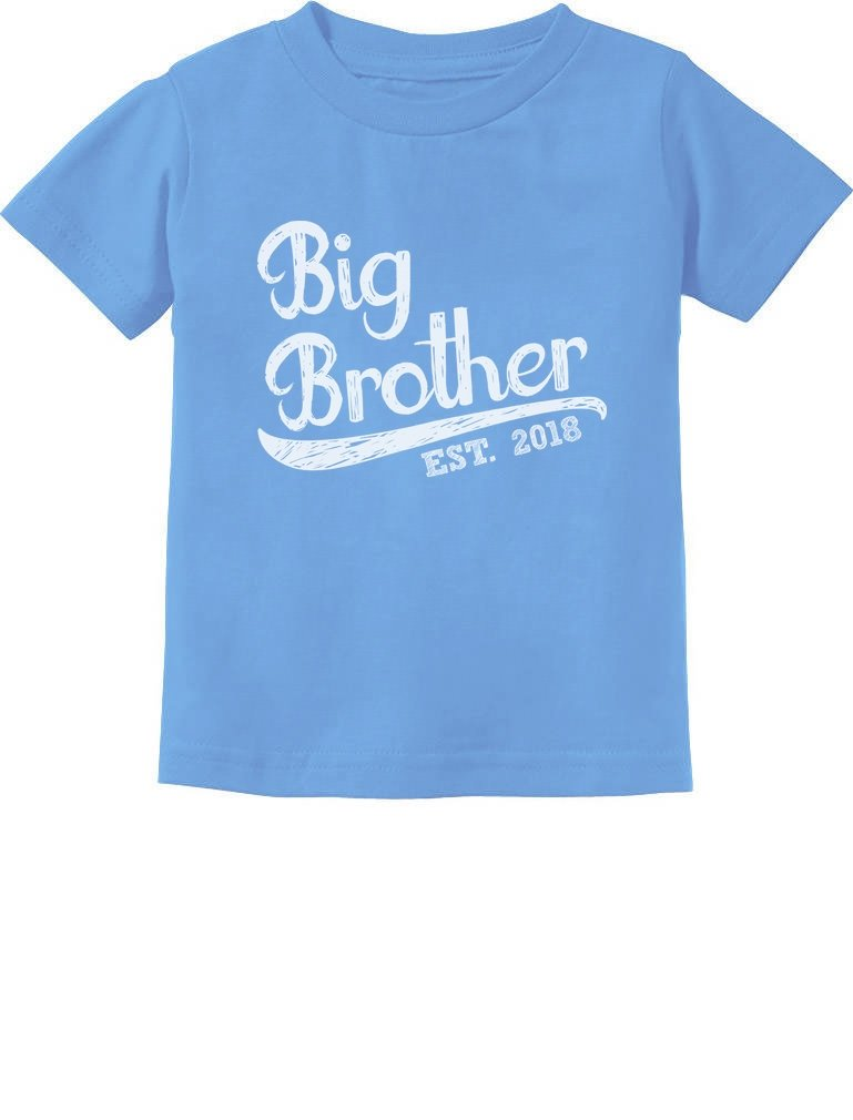 TeeStars - Gift for Big Brother 2018 Toddler/Infant Kids T-Shirt GtPhtMagm5