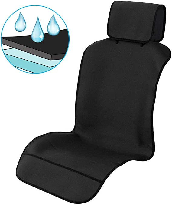 SEAT LEON FR 06-12 Heavy Duty Waterproof Single Seat Cover Protector Black