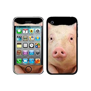 Graphics and More Protective Skin Sticker Case for iPhone 3G 3GS - Non-Retail Packaging - Little Pig Piggy
