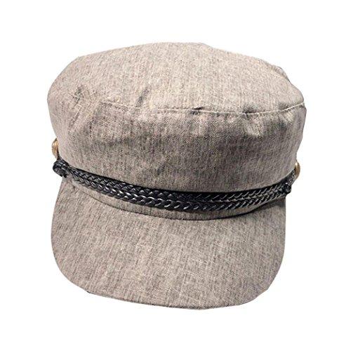 (Women's Cap, Limsea Fashion Girls Octagon Cap Newsboy Cap Student Berets Hat)