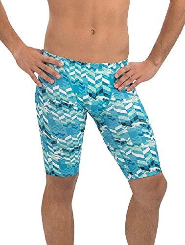 Dolfin Men's Uglies Prints Jammer Swimsuit (Pixel, 34) ()