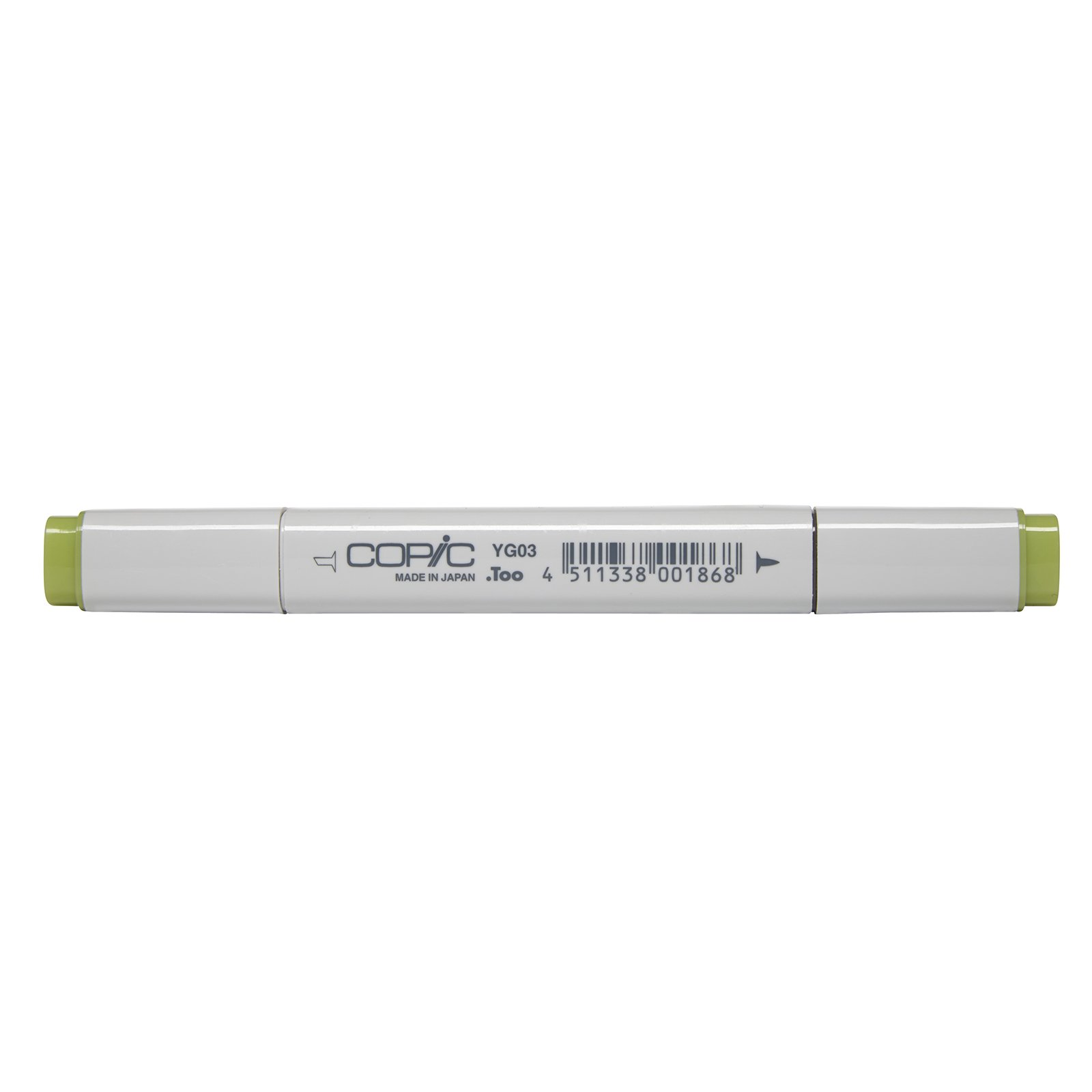 Copic Marker with Replaceable Nib, YG03-Copic, Yellow Green