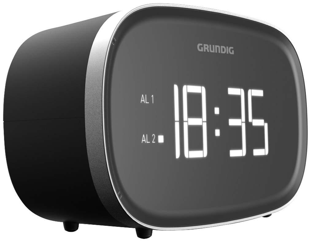Grundig Sonoclock 3000 Reloj Digital Negro - Radio (Reloj, Digital, Am,FM, 2 W, LED, Negro): Amazon.es: Electrónica