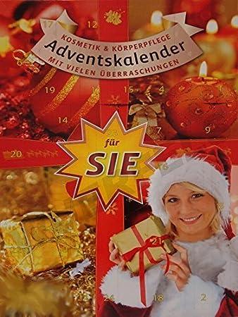 Weihnachtskalender Real.Großer Kosmetik Adventskalender Weihnachtskalender Für Sie Damen Frauen 60cm Hoch