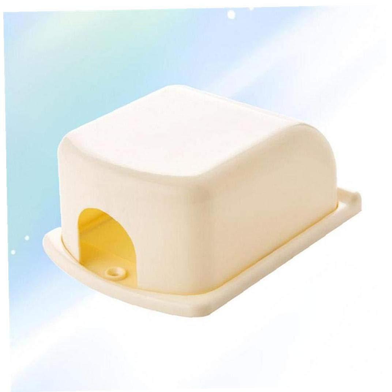 Babyproof Adhesiva de Seguridad del beb/é Toma de Corriente para la Cubierta del Enchufe del z/ócalo del Sitio del Cuarto de ba/ño Inicio