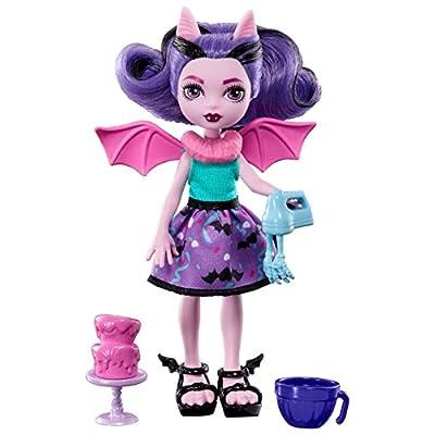 Monster High Monster Family Fangelica Doll: Toys & Games