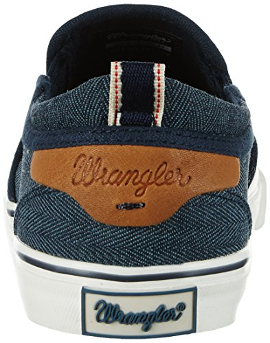 Wrangler Damen Icon Slip On Sneakers Blau (Navy)