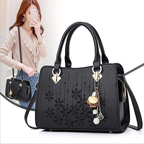 Crossbody Handle Fashion Shoulder Leather Satchel OxsOy Purses Top Women White Bags Handbags Bags xHwSXqz5q