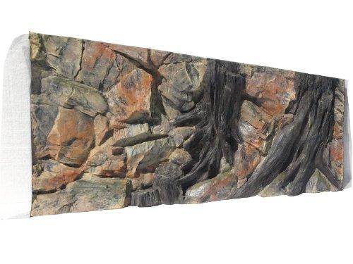 Aquarium Rückwand 3d Wurzel 120x60cm bei Robizoo