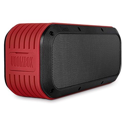Bluetooth speaker, Divoom Outdoor2 Portable Wireless Rugged Water Resistant Speaker (Red)