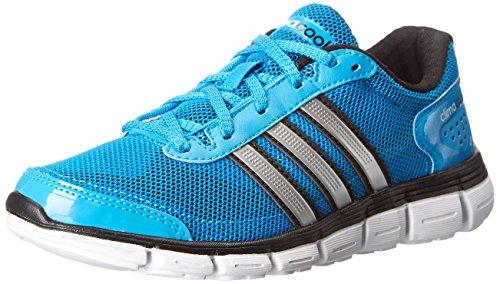 adidas Performance CC Fresh XJ Running Shoe,Blue/Black/Silver,2 M US Little Kid