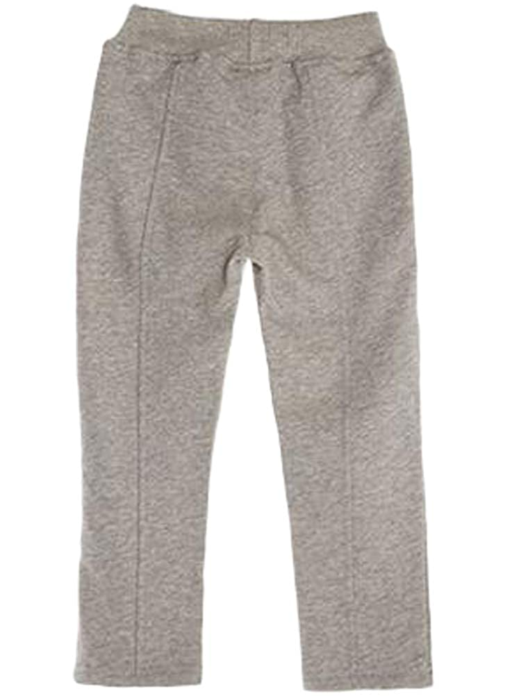 Mallimoda Girls Active Sweatpants Casual Elastic Cotton Trousers Jogger