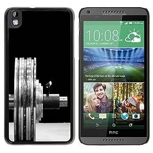 Barbell Black Popular Sell Customized Design HTC Desire 816 Case
