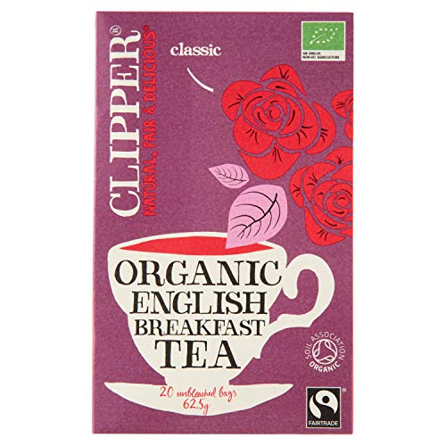 Clipper Teas - English Breakfast Tea Organic - 20 Bags