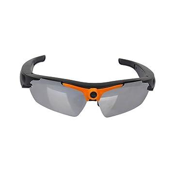 PowMax - Cámara de gafas de sol WW-14 4 K WiFi Bluetooth Mini gafas