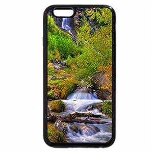iPhone 6S / iPhone 6 Case (Black) Fall Waterfall