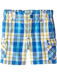 Baby Boys' Yarn Dyed Plaid Cargo Short