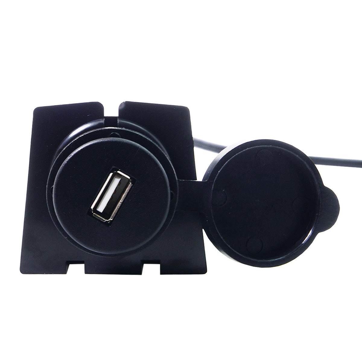 impermeabile per cruscotto 1 m Prolunga USB 2.0 con porta singola AUX montaggio a incasso CY