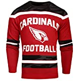 FOCO Arizona Cardinals Ugly Glow In The Dark Sweater - Mens - Mens Extra Large