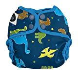 Imagine Baby Products Newborn Snap Diaper Cover, Rawr