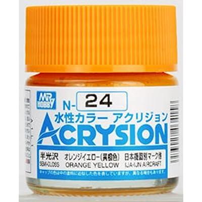 GSI Creos Gunze Mr Hobby Acrysion Color Acrylic N24 Orange Yellow Model Kit Paint 10ml: Toys & Games [5Bkhe1404396]