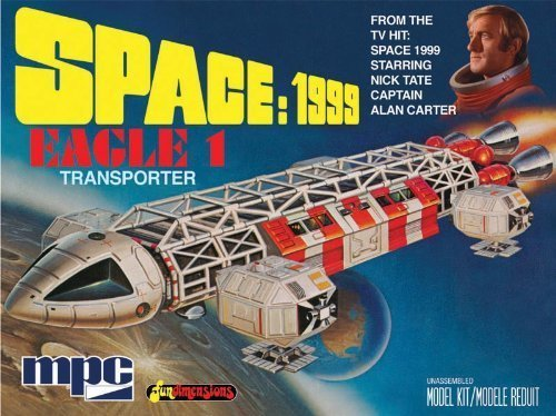 1/72 Space 1999: Eagle 1 Model: MPC791, Toys & Games for Kids & Child (Eagle Space 1999 compare prices)