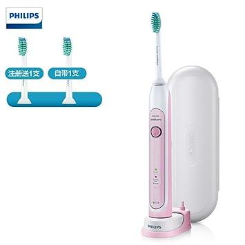 Philips Sonicare HealthyWhite HX6761/03 cepillo eléctrico para dientes Adulto Cepillo dental sónico Rosa,
