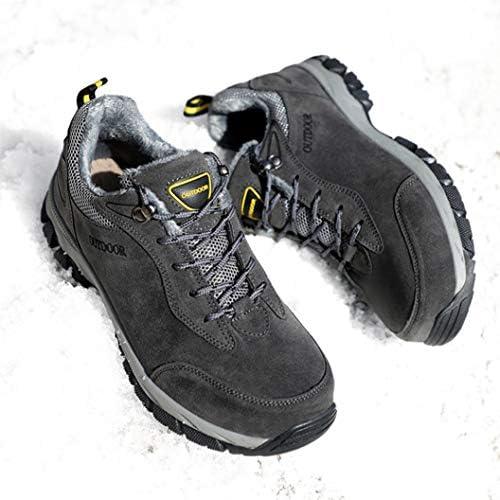 防滑 登山靴 レースアップ ハイキングシューズメンズ 大きいサイズ マウンテンブーツ ワークブーツ ウォーキングシューズ 耐摩耗性 アウトドア キャンプシューズ 通気性 レジャー 野外 軽量 防水 防泥 防汗
