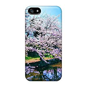 Case Cover Cherry Blossom Trees Iphone 5/5s Protective Case