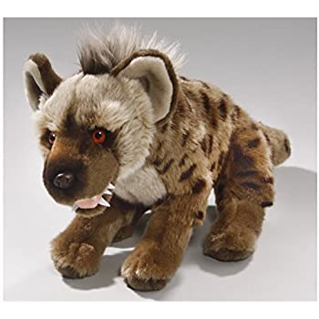 Amazon.com: Stuffed Animal Hyena, Spotted Hyena 12 inches