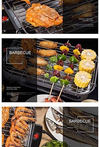 Gril électrique sans fumée Portable Hot Dog Churrasqueira Eletrica Grille-Pain coréen équipement de Moteur de Barbecue Rotatif Uptodate