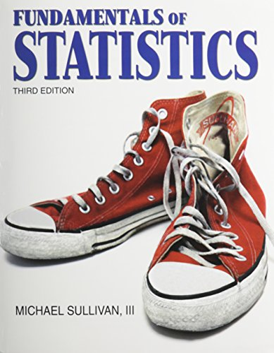 Fundamentals of Statistics with MathXL (12-month access) (3rd Edition)