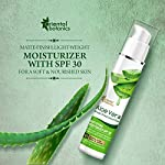 Oriental Botanics Aloe Vera, Green Tea & Cucumber Mattifying Face Moisturizer SPF 30, 50ml