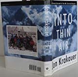 img - for By Jon Krakauer: Into Thin Air book / textbook / text book