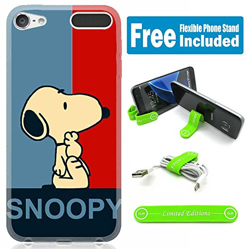 [Ashley Cases] TPU Skin Cover Case for iPod - Ipod 5 Generation Snoopy Case