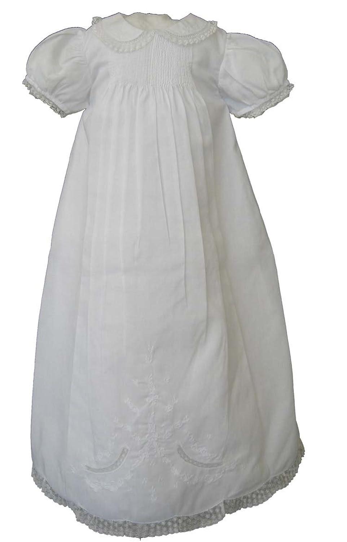 Amazon.com: Feltman Brothers Infant Girls White Christening ...