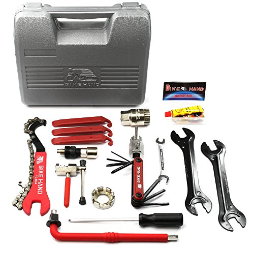 BIKEHAND Bike Bicycle Repair Tools Tool Kit - Bike Tool Kit Set