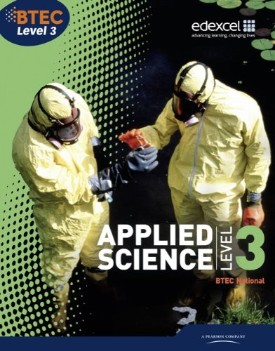 Btec National Applied Science. Level 3, Student Book