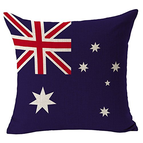 Australia Flag Throw Pillow Case