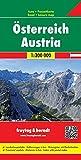 Österreich, Autokarte 1:300.000 (Westfalzung), freytag & berndt Auto + Freizeitkarten