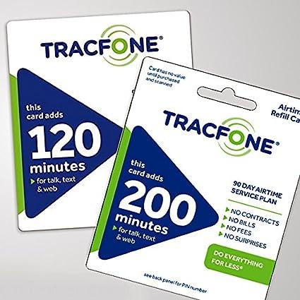 Amazon.com: tracfone tarjeta de Airtime prepago, 300 minutos ...
