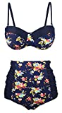Angerella Push up Bikini High Waisted Swimsuit Cute Bathing Suits